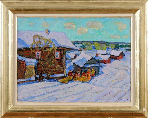 Verschneites Gorki - Nikolai Mokrov